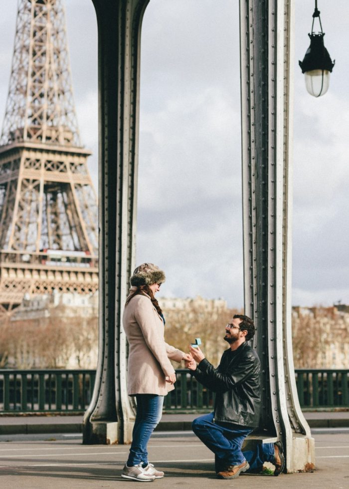 Wedding Proposal Ideas in Paris - Eiffel Tower