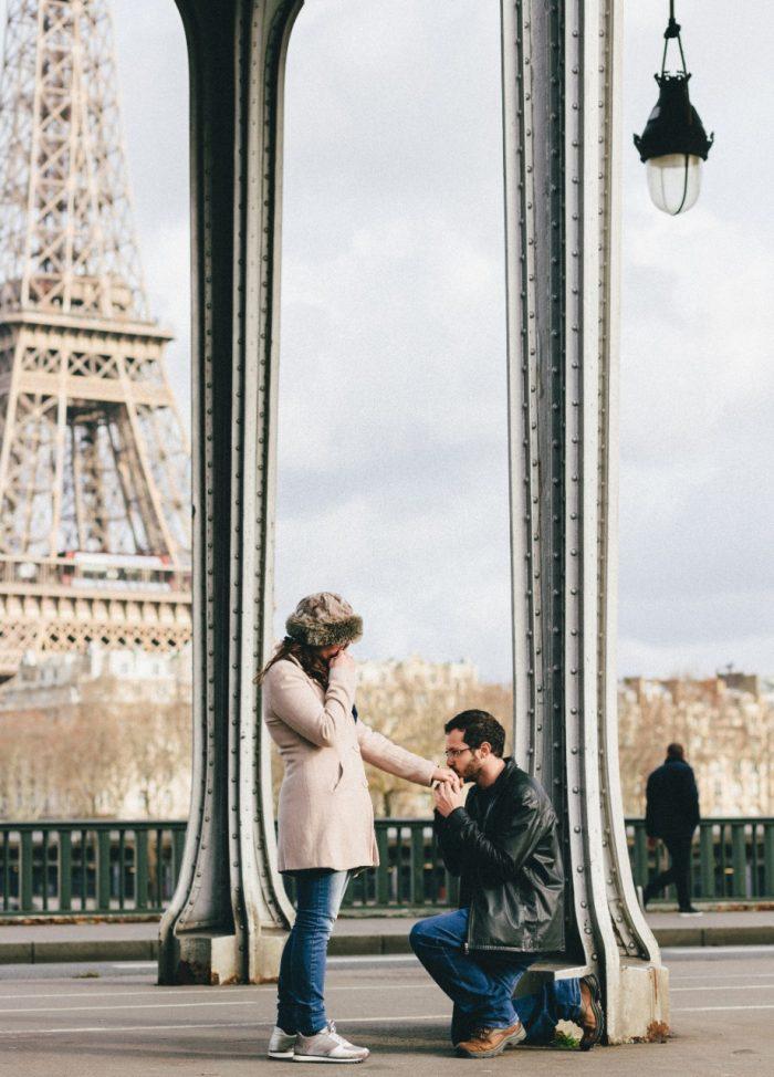 Engagement Proposal Ideas in Paris - Eiffel Tower