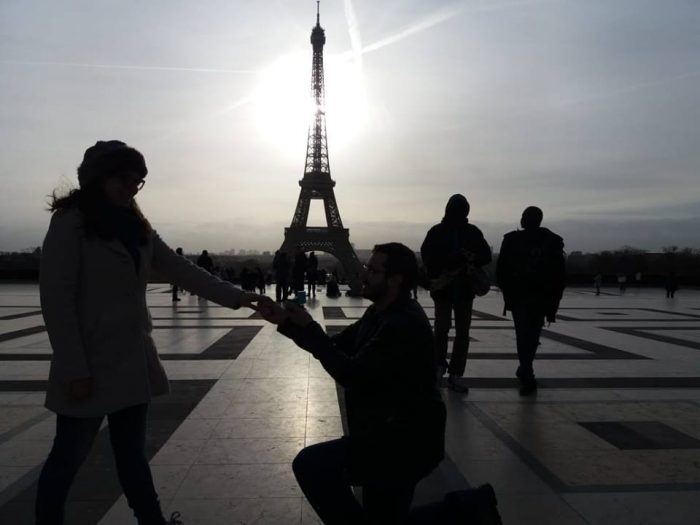 Where to Propose in Paris - Eiffel Tower