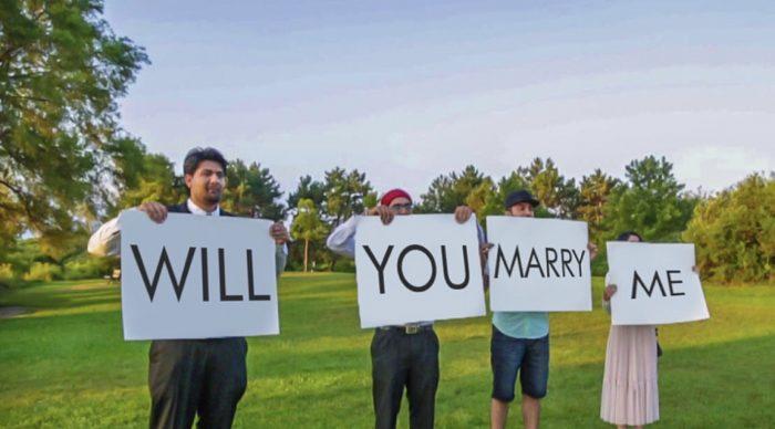 Kriti and Avi's Engagement in Toronto Lakeshore