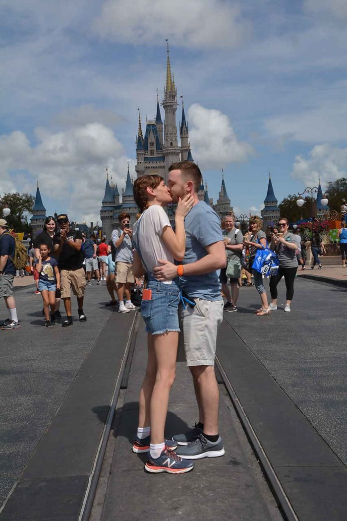 Kimberly's Proposal in Walt Disney World