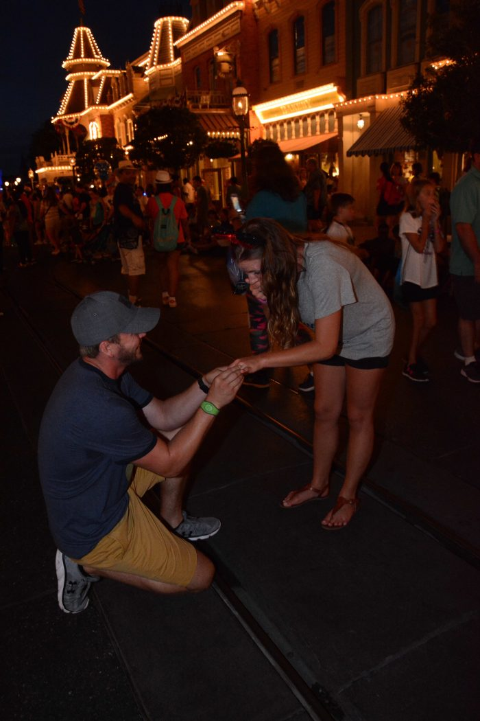 Hillary and Matthew's Engagement in Walt Disney World
