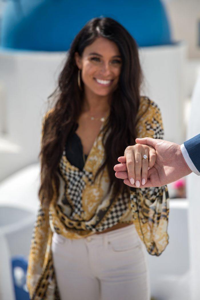 Moriah's Proposal in Santorini, Greece