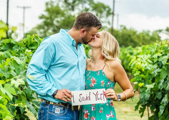 Engagement Proposal Ideas in Fredericksburg, Texas