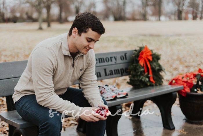 Engagement Proposal Ideas in St. Louis, Missouri Botanical Gardens