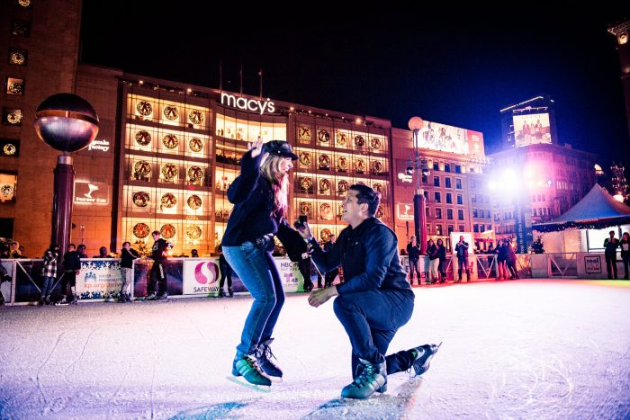 Proposal Ideas Union Square Ice Rink, Downtown San Francisco