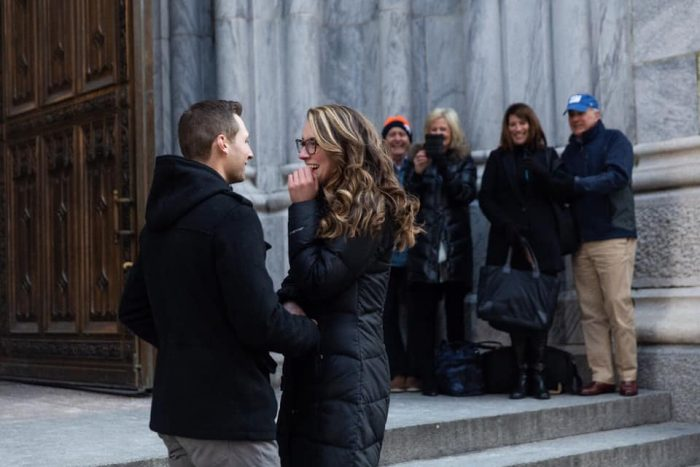 Where to Propose in St. Patrick's Cathedral, N.Y., N,Y,