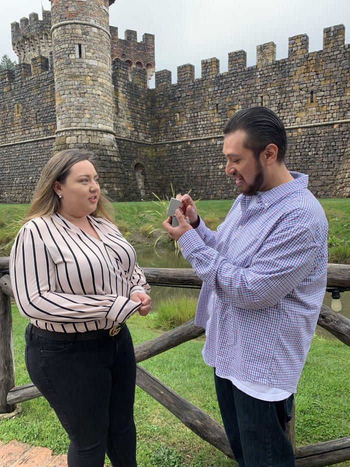 Wedding Proposal Ideas in Castello di Amorosa