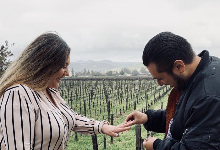 Marriage Proposal Ideas in Castello di Amorosa