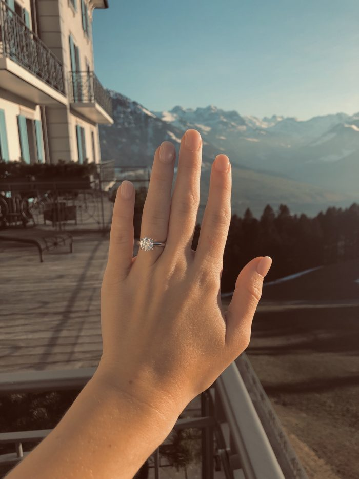 Emily and Colby's Engagement in Switzerland - Hotel Villa Honegg