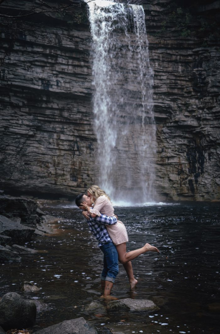 Casey's Proposal in Awosting Falls, New York