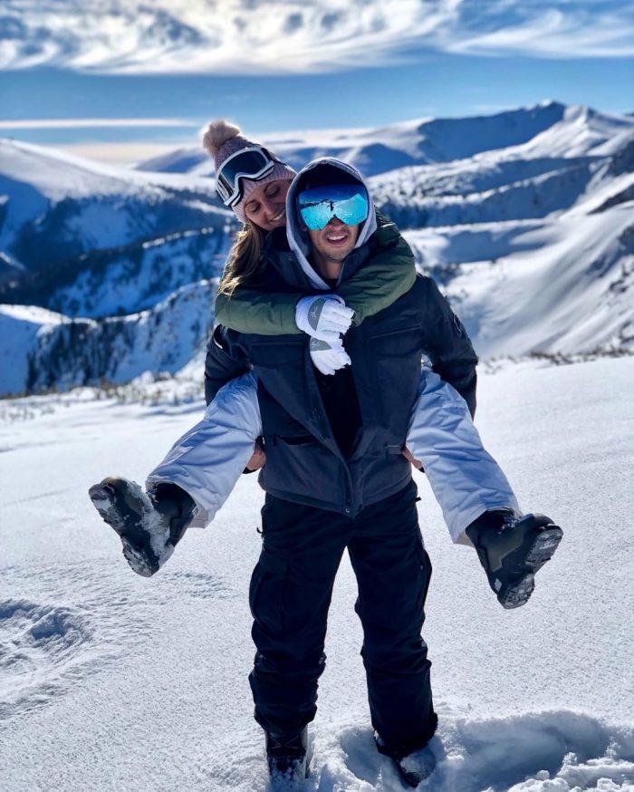 Samantha's Proposal in Winter park Colorado
