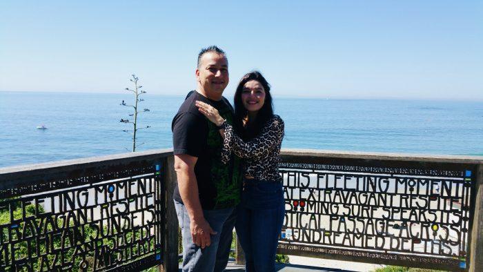 Marisol and Michael's Engagement in Laguna Beach, CA