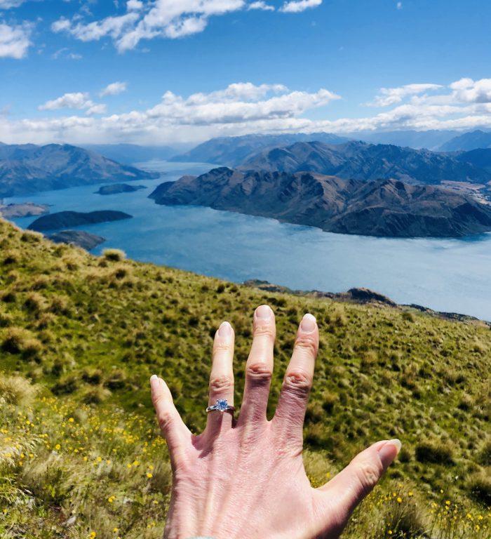 Marriage Proposal Ideas in Wanaka, New Zealand