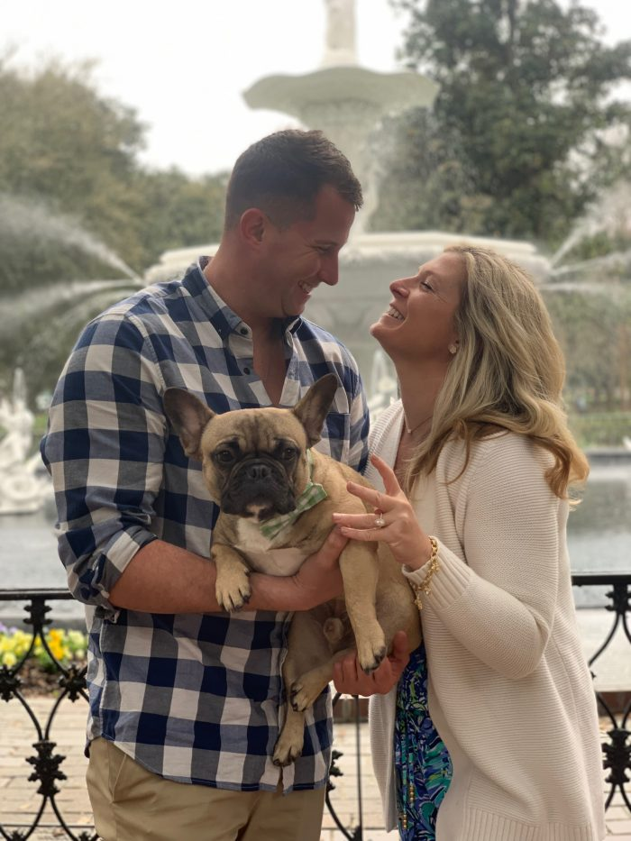 Erika and Kenny's Engagement in Savannah, GA