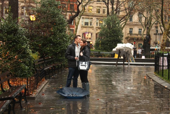 Marriage Proposal Ideas in Madison Square Park