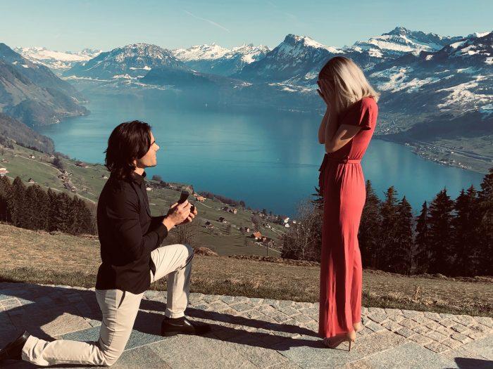 Where to Propose in Switzerland - Hotel Villa Honegg