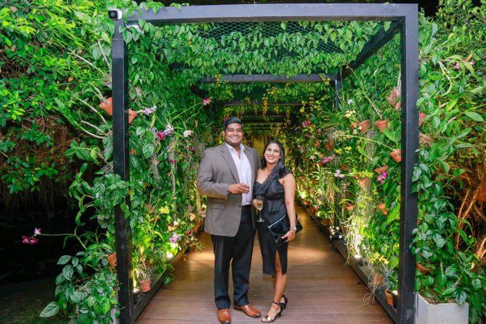 Melanie's Proposal in FiftyKay Orchids - Waters Edge Hotel, Sri Lanka
