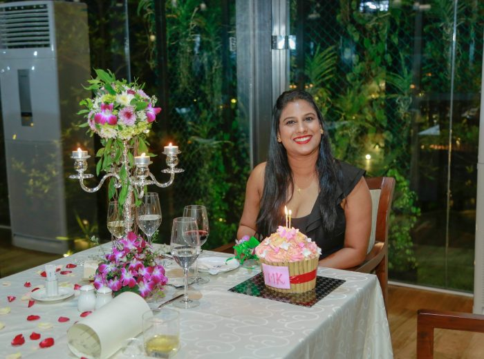 Melanie and Chanil's Engagement in FiftyKay Orchids - Waters Edge Hotel, Sri Lanka