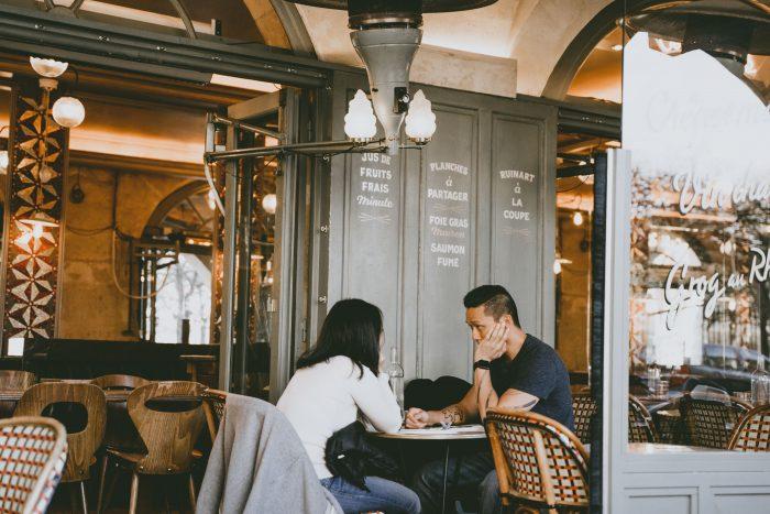 Gloria and Chris's Engagement in Paris, France (Le Marais)