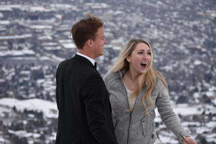 Marriage Proposal Ideas in On top of a mountain in Salt Lake City