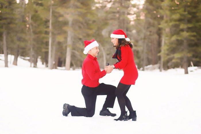 Jessica and Dominic's Engagement in Palm Springs Aerial Tramway