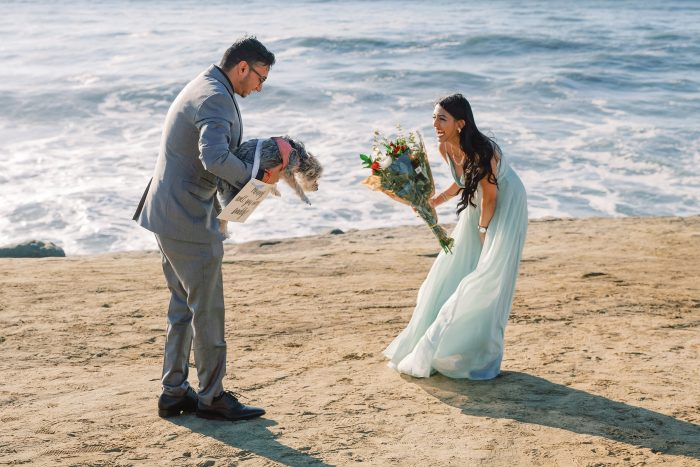 Wedding Proposal Ideas in Sunset Cliffs in San Diego, CA