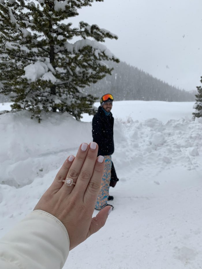 Nory's Proposal in Breckenridge, CO