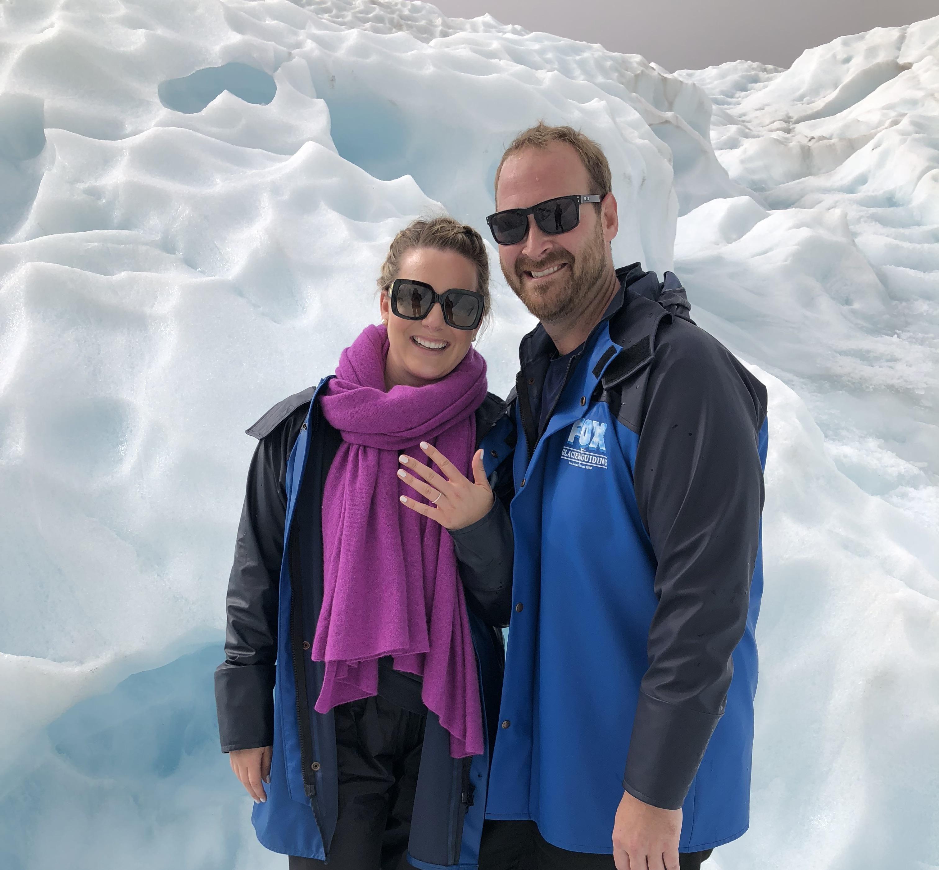 Where to Propose in Fox Glacier, New Zealand
