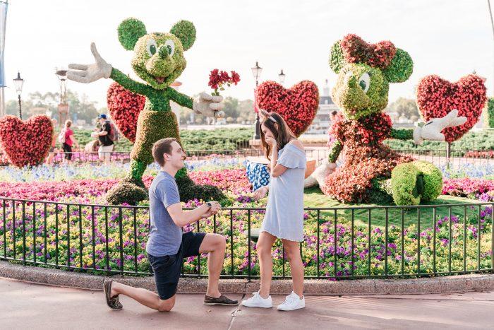 Wedding Proposal Ideas in Epcot — Walt Disney World