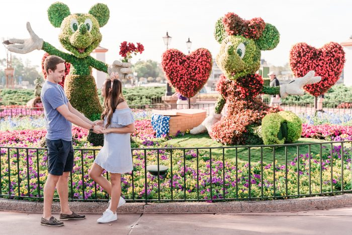 Glenna and Kyle's Engagement in Epcot — Walt Disney World