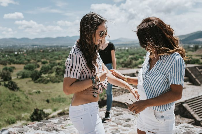 Regina and Lisana's Engagement in Teotihuacan Pyramids Mexico City
