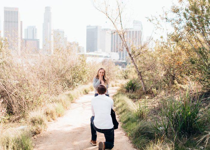 Wedding Proposal Ideas in Vista Hermosa Park - Los Angeles, CA