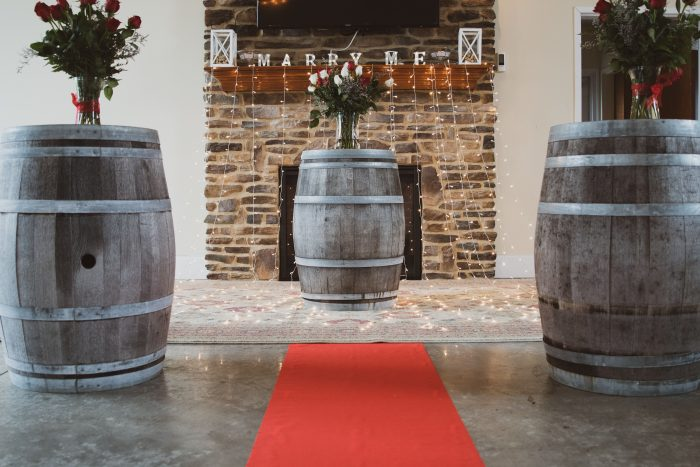 Engagement Proposal Ideas in Buckeye Lake Winery