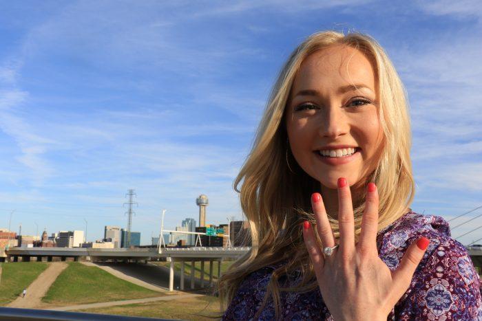 Wedding Proposal Ideas in Trinity Groves Bridge Dallas, TX