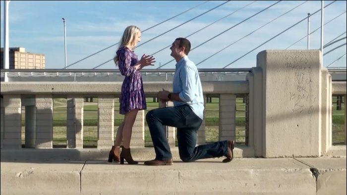 Engagement Proposal Ideas in Trinity Groves Bridge Dallas, TX
