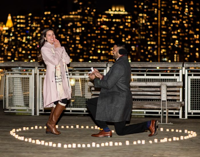 Tanaz and Zainul's Engagement in New York City, New York
