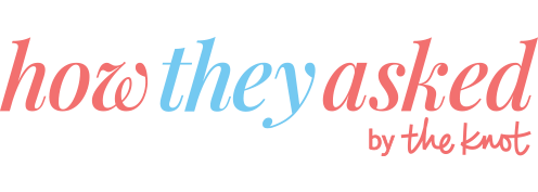 Share Your Proposal Story on HowTheyAsked com by The Knot!
