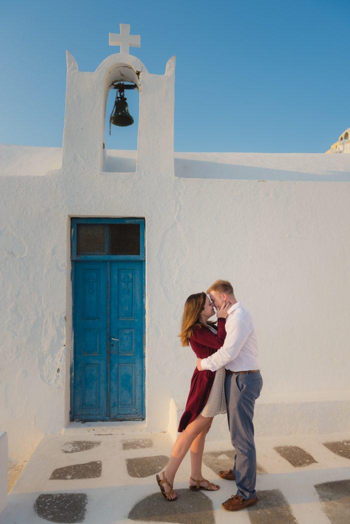 Where to Propose in Greece Santorini