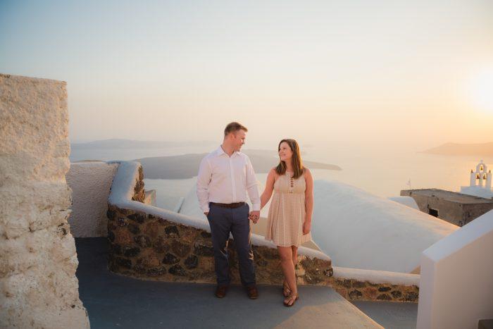 Wedding Proposal Ideas in Greece Santorini