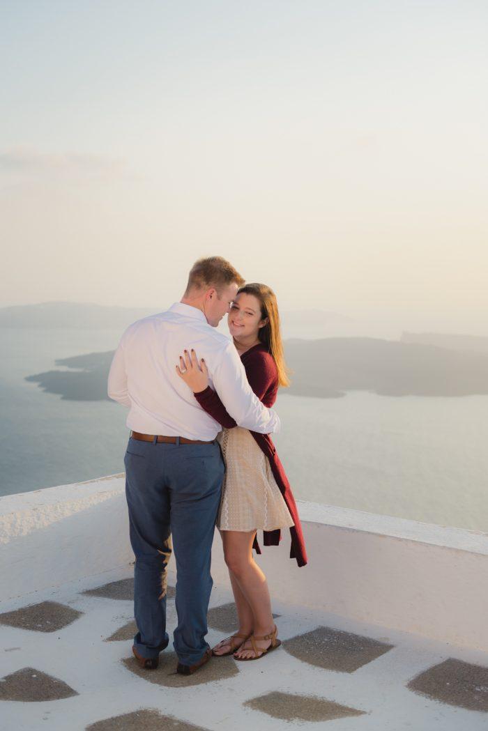 Madison's Proposal in Greece Santorini