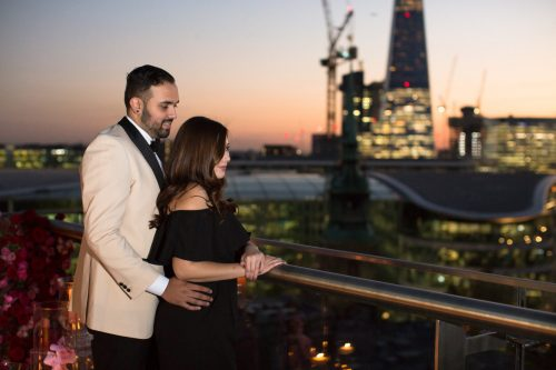 Wedding Proposal Ideas in Rooftop at the four seasons