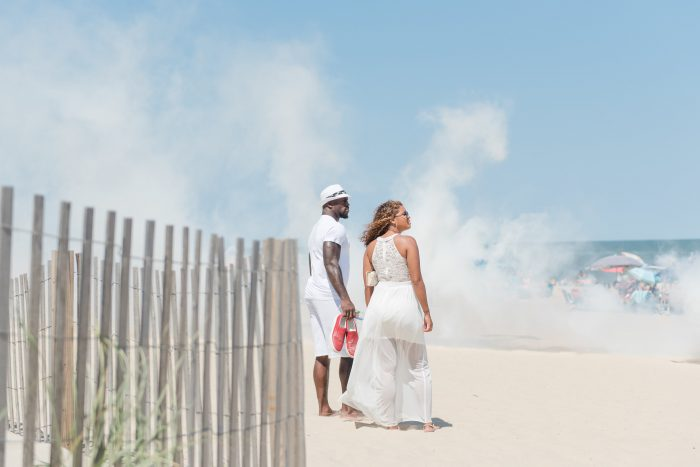 Kayla and Vernon's Engagement in Ocean City, MD