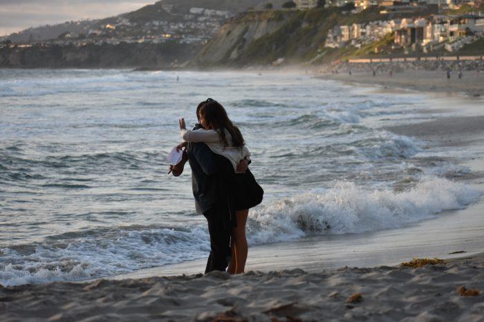 Marriage Proposal Ideas in Strands beach in Dana point CA