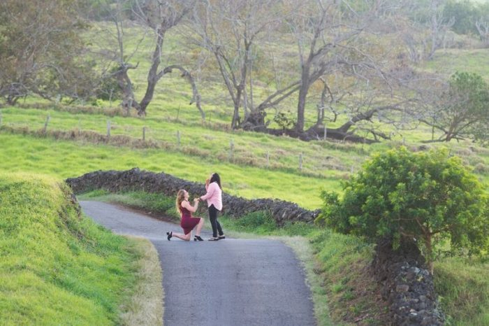 Linette and Sarah's Engagement in Thompson Road, Kula, Maui, Hawaii