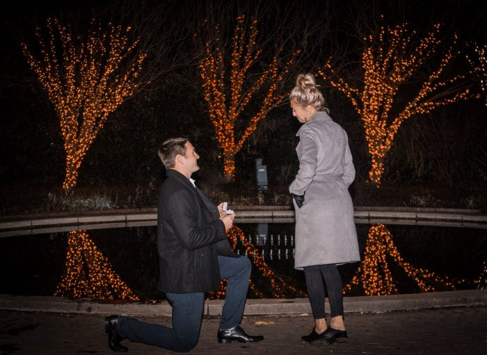 Tanna's Proposal in Daniel Stowe Bantanical Gardens