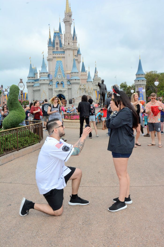 Marlene's Proposal in Disney World - Magic Kingdom
