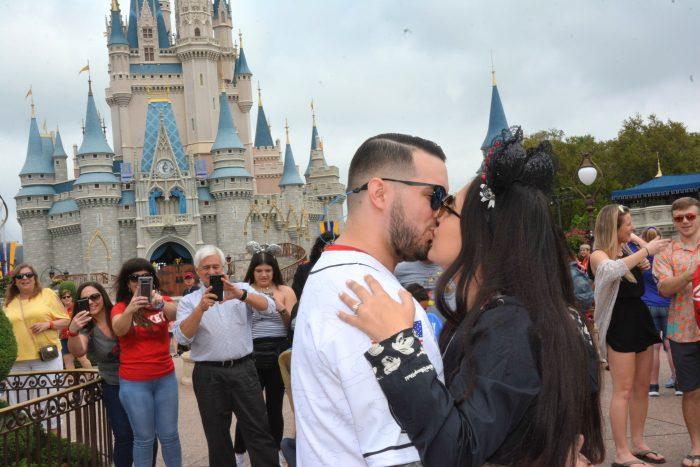 Engagement Proposal Ideas in Disney World - Magic Kingdom