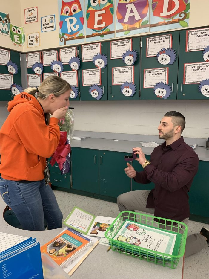 Where to Propose in Euclid Elementary School - Her classroom