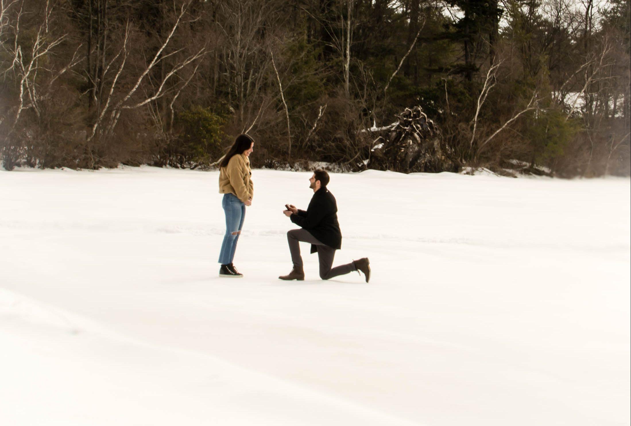 Wedding Proposal Ideas in Camp Lakota